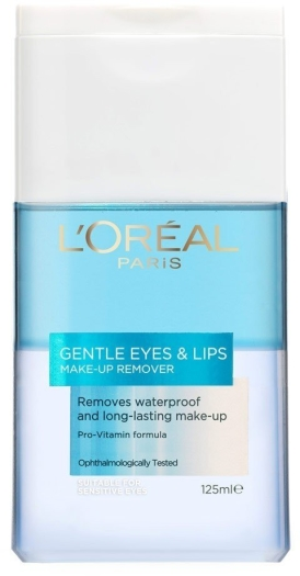 L'Oreal Cleansing Gentle Waterproof Eye Make-up Remover 125ml
