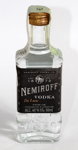 Nemiroff De LUX 40% 0.05L
