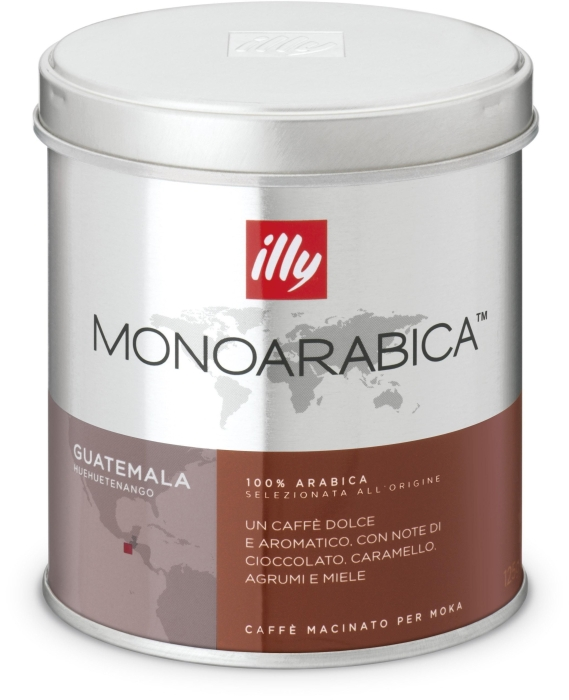 Illy Monoarabica espresso for mocha from Guatemala 125g