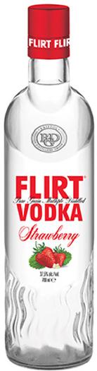 Flirt Vodka Strawberry 37,5% 1L