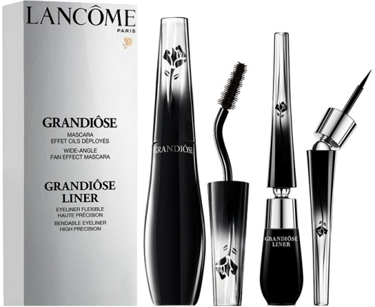 Lancome Duo Grandiose Mascara And Grandiose Liner Set 10.4ml + 1.4ml