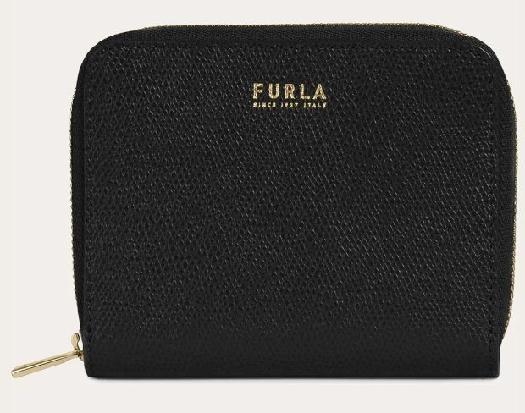 Furla Next S Ziparound Wallet, Black 1056298