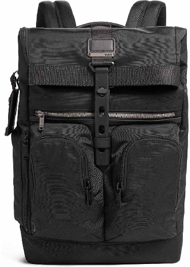 Tumi ALPHA BRAVO Backpack with laptop compartment, Black 0232659D1041