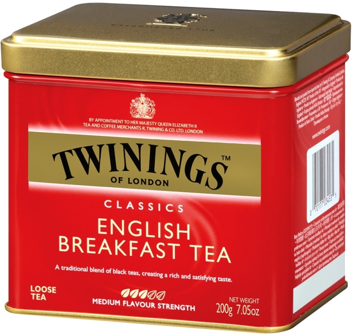 Twinings English Breakfast Tea in Tin 200g