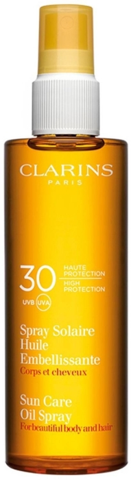Clarins Body&Hair Sun Care Dry Oil UVA/UVB 30 protection 150 ml
