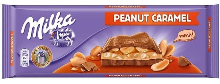 Milka Peanut Caramel 276g
