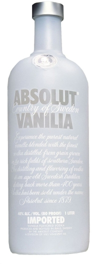 Absolut Vodka Vanilla 40% 1L