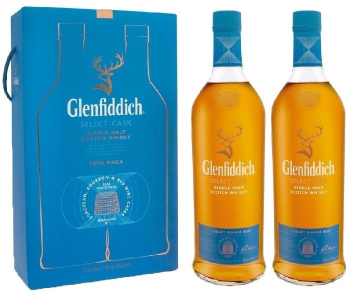 Glenfiddich Select Cask 40% 2x1L Twinpack 2x1L