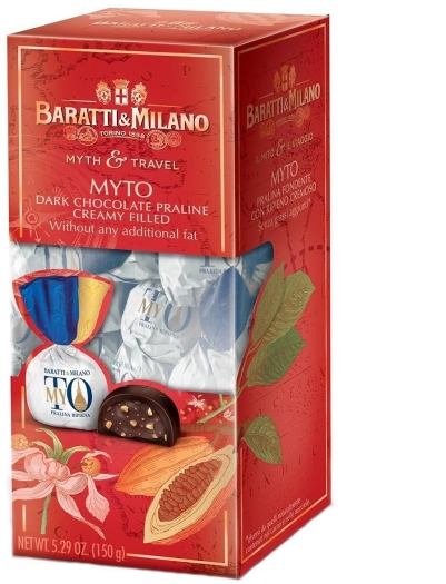 Baratti&Milano Il Mito e Il Viaggio Ballotin MyTO 150g