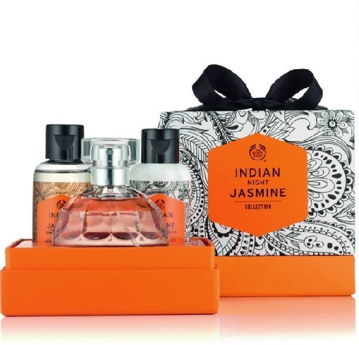 The Body Shop Indian Night Jasmine Eau De Toilette 50ml Gift Set 50ml+60ml+60ml