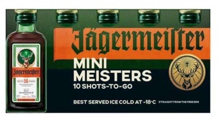 Jagermeister Mini Meister 35% 10x0.02L