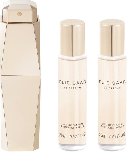 Elie Saab Le Parfum Purse Spray Refillst Set EdP 3x20ml