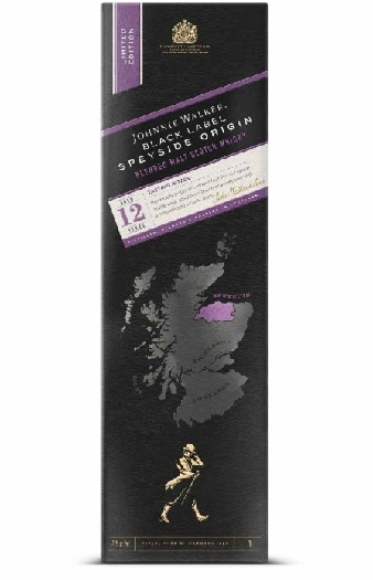 Johnnie Walker Black Label Speyside Origin