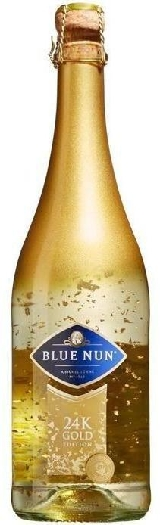 Blue Nun 24K Gold Edition, White Sweet Sparkling Wine 0,75L