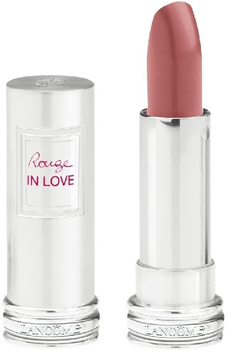 Lancome Rouge in Love Lipstick N°300M Beige Dentelle (Pink) 4ml
