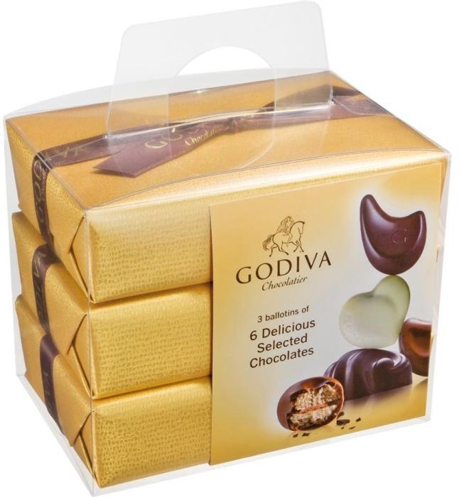 Godiva Gold Ballotin 210 g