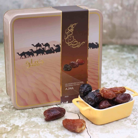 Jomara Assorted Dates in Tin Can 500g