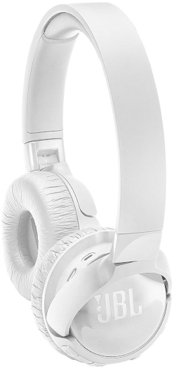 JBL TUNE600BTNC On-Ear Bluetooth Noise Canceling Headphones White 173g