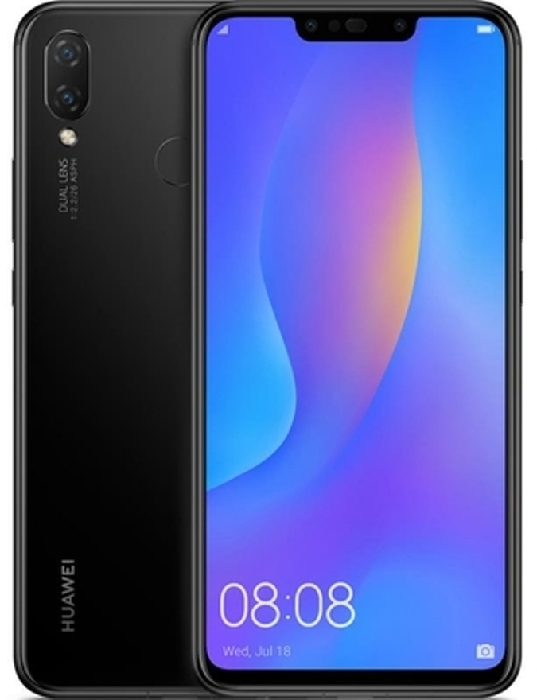 Huawei Nova 3I 128GB Dual SIM Black rüsumsuz Hava limanına