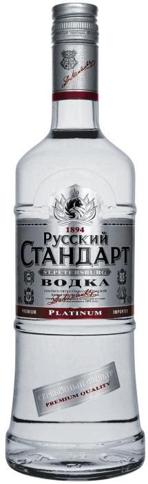 Russian Standard Vodka Platinum 0.5L