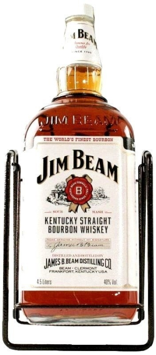 Jim Beam White Kentucky Straight Bourbon 4.5L