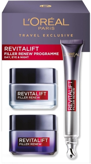 L'Oreal Revitalift Filler Renew 50ml+50ml+15ml