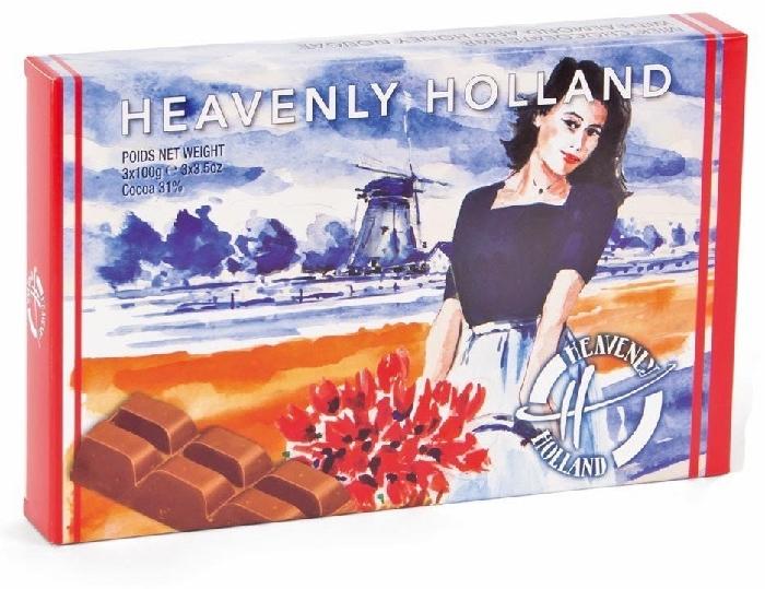 Starbrook Heavenly Holland Milk Chocolate 300g