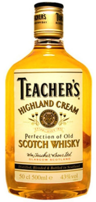 Teacher's Highland Cream Whisky 40% 0.5L