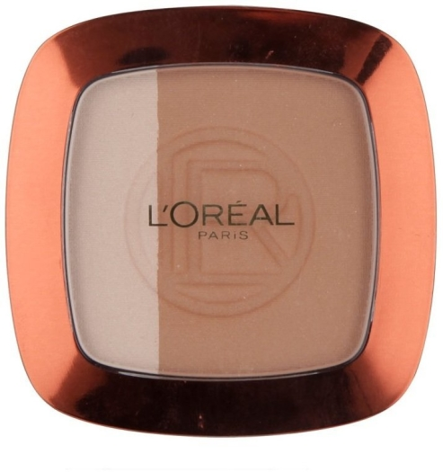 L'Oreal Glam Bronze Duo Powder N101 Blonde Harmony 9g