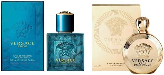 Versace Eros&Versace Eros Pour Femme Duo Set EdT 2х30ml