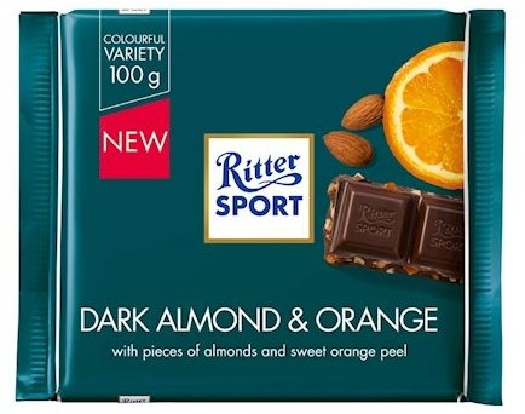 Ritter Sport Almond&Orange