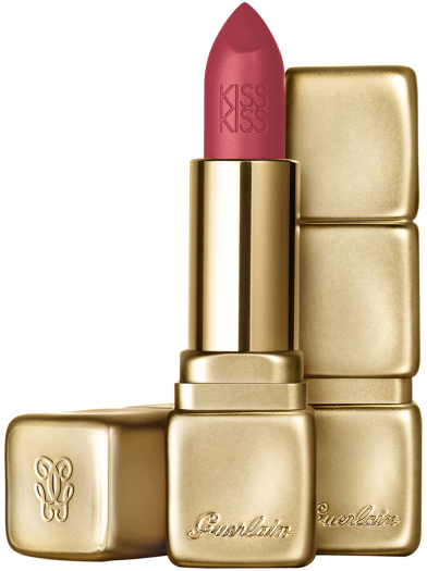 Guerlain Kiss Kiss Matte No. 375 Flaming Rose