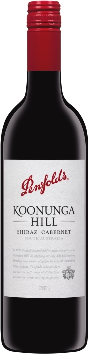 Penfolds Koonunga Hill Shiraz Cabernet 0.75L