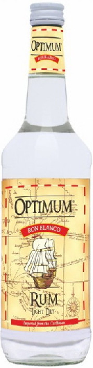 Optimum White Rum 37,5% 1L