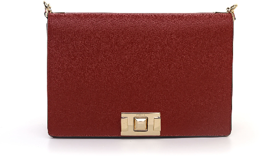 Furla Mimi M Crossbody, Dark red 1033436