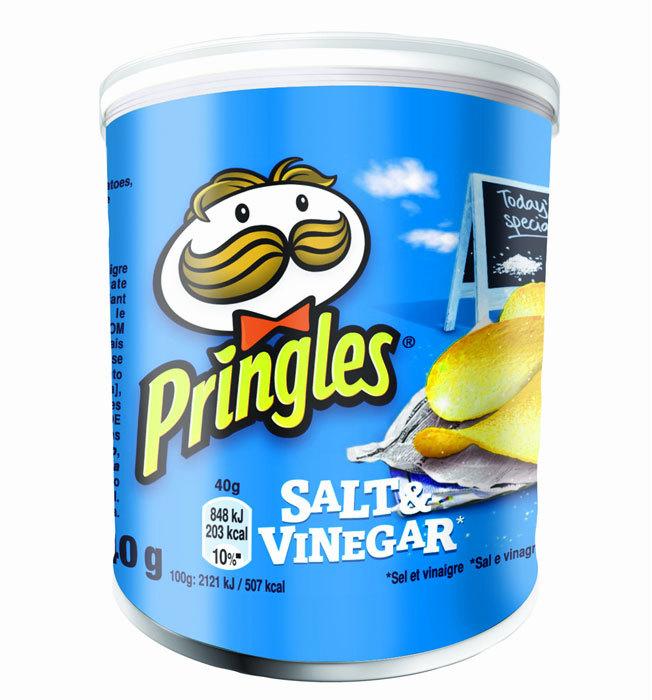 Pringles Salt&Vinegar 40g