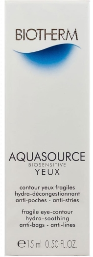 Biotherm Aquasource Biosensitive Eye Cream 15ml