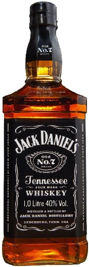 Jack Daniel's Old No. 7 Tennessee Whiskey 40% 1L