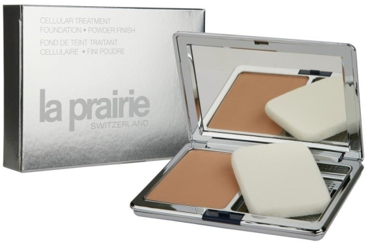 La Prairie Cellular Treatment Foundation Powder Finish № 61 Sunlit Beige 14.2g