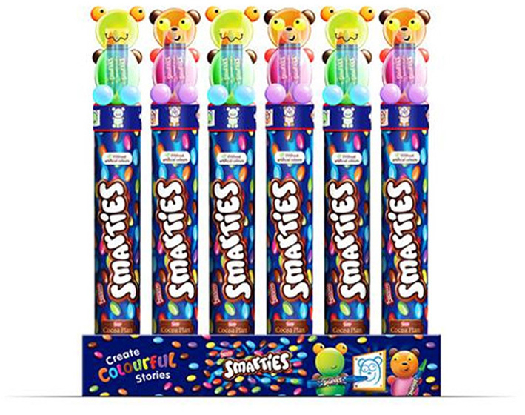 Smarties Giant Tube Crayons 130g