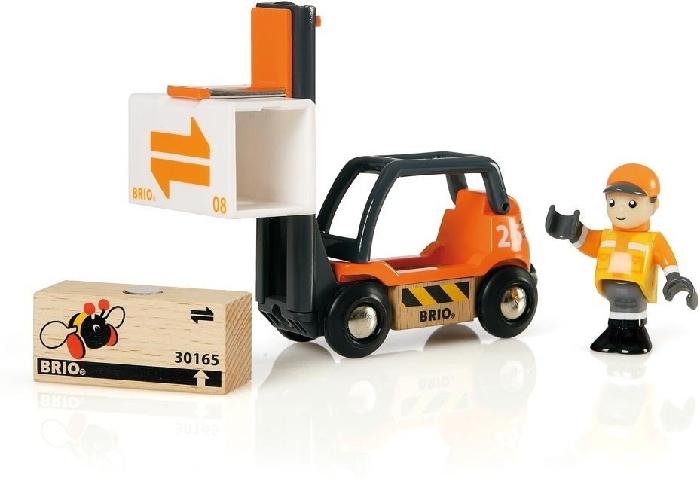 BRIO Wooden Toy 3573 Forklift