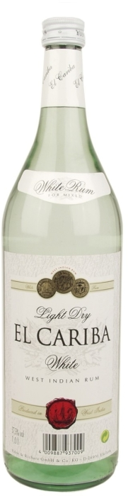 Caribica Weiss Rum 1L