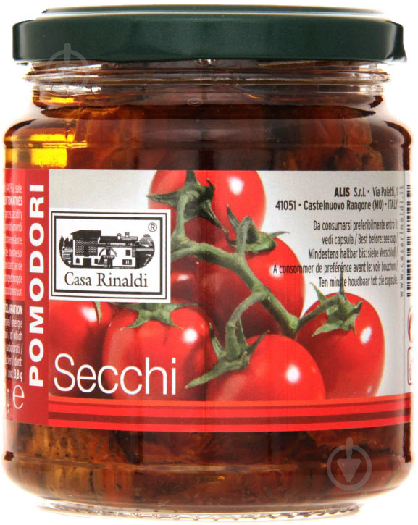 Casa Rinaldi Tomatoes dried in vegetable oil 270g