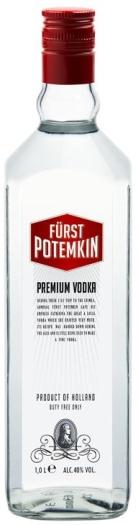 Furst Potemkin Red 40% Vodka 1L