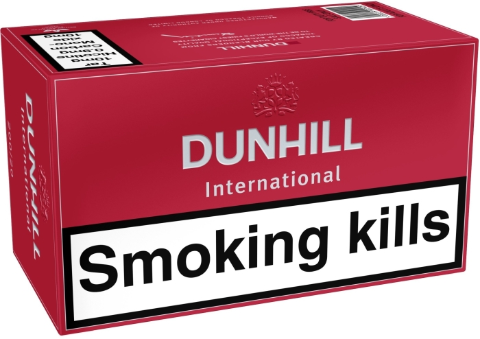 DUNHILL International Red 200s NHW