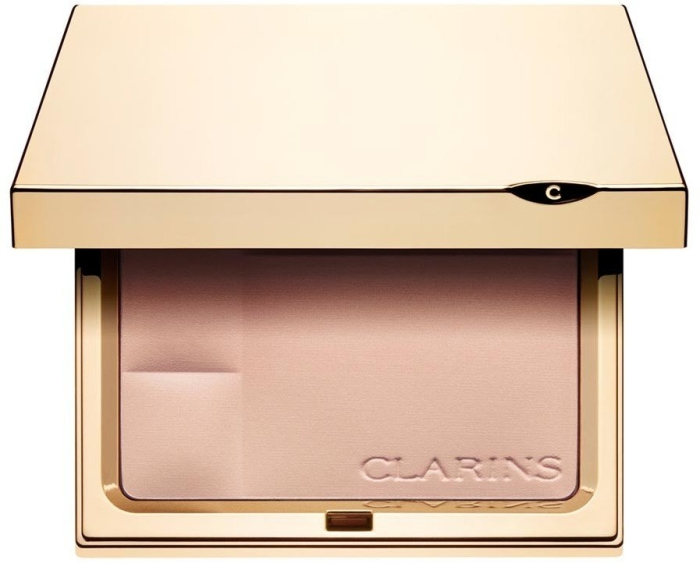 Clarins Compact Powder - Minerals Ever Matte - Mineral Powder Compact Transparent Opal 00 10g