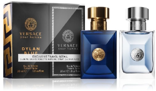 Versace Set (Versace pour Homme&Dylan Blue 2х30 мл) 790472 60ml