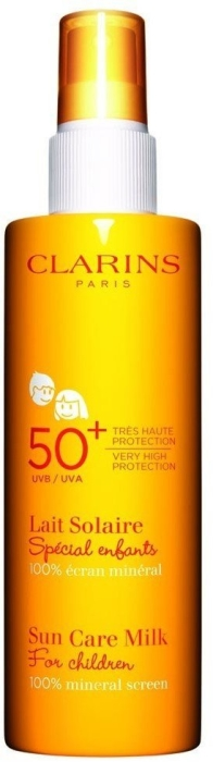 Clarins Sun Care Milk Spray very high Protection for Children UVB 50+ UVA 150ml