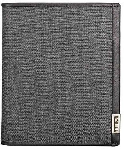 Tumi ALPHA SLG Passport Case, Anthracite/Black 019271ATD
