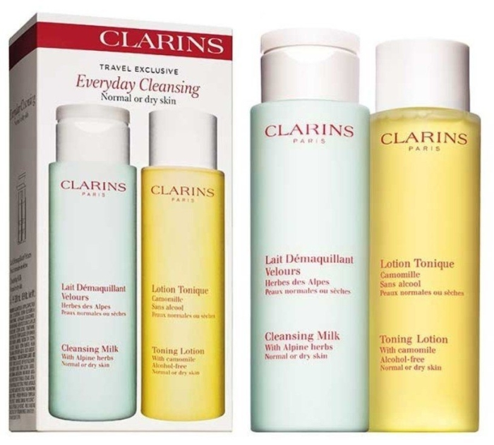 Clarins Skincare Everyday Cleansing Set 2x200ml